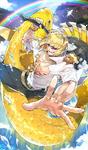 Golden Carp Figure
