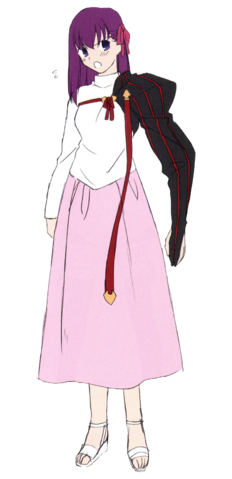 File:Sakura magecraft combat mystic code uniform.png