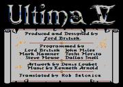 U5 Atari8bit Credits