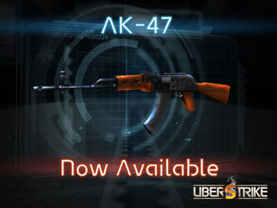 AK47 now available