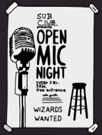 File:Sub Club Open Mic Night poster.png