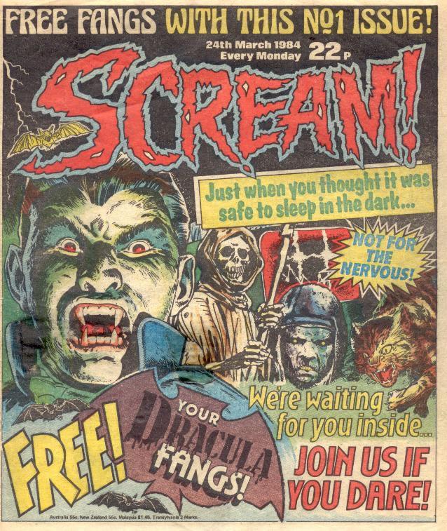 Scream | Female Comic Characters♥ | Pinterest