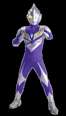 Ultraman Tiga Sky Type Render