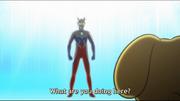 Wooser x Ultraman Zero 1