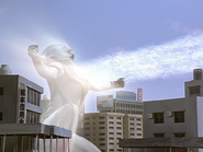 Evil Tiga finished by Ultraman Tiga