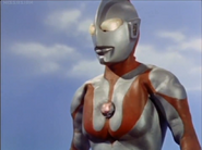 Ultraman defeated