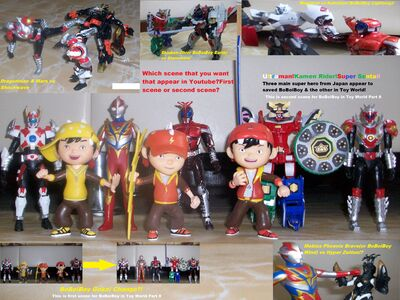 BoBoiBoy in Toy World Part 8 spoiler