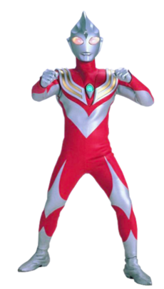 Ultraman Tiga Power Type Render