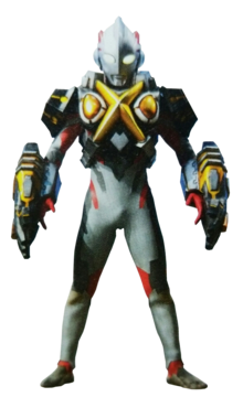 Ultraman X Zetton Armor Unchained