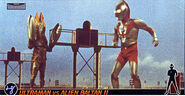 Ultraman vs Alien Baltan ll