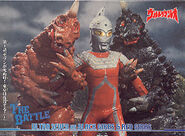 Ultraseven vs Black Giras & Red Giras