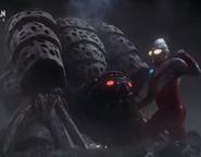 Tiga Power vs Gatanothor