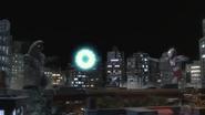 Ultraman uses Hand Slash