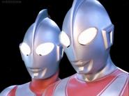 Ultraman & Jack in Mebius