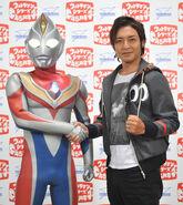 Takeshi Tsuruno & Ultraman Dyna