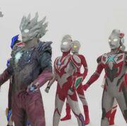 Ribut among Ultraman