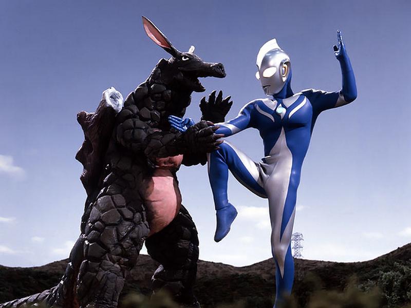 Ultraman Cosmos Monsters Eligal v Ultraman Cosmos