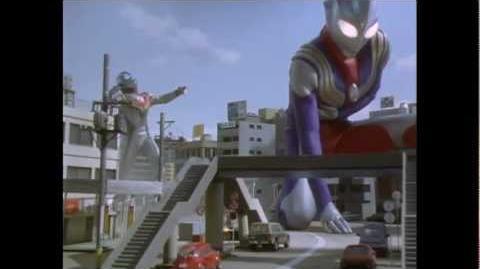 The Tiga that never was! Gardi and Ultraman Tiga vs Evil Tiga