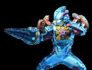 Ultraman X Denpagon Armor render up