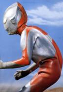 Ultraman A fighting