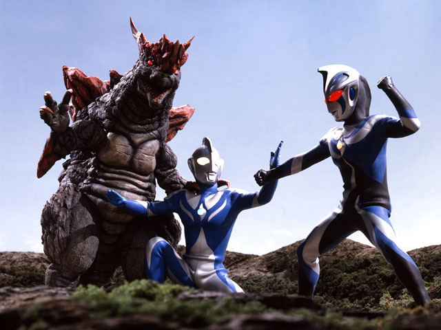 Ultraman Cosmos vs Ultraman Justice Cosmos vs Chaos Ultraman