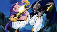 Fat Buu vs Evil Buu