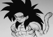 SSJ4GokuToriyama-MangaVersion-Black