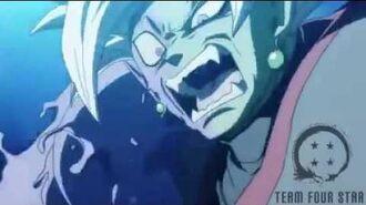 Dragon ball super abridged Trunks kills Zamasu by Team Four Star-1