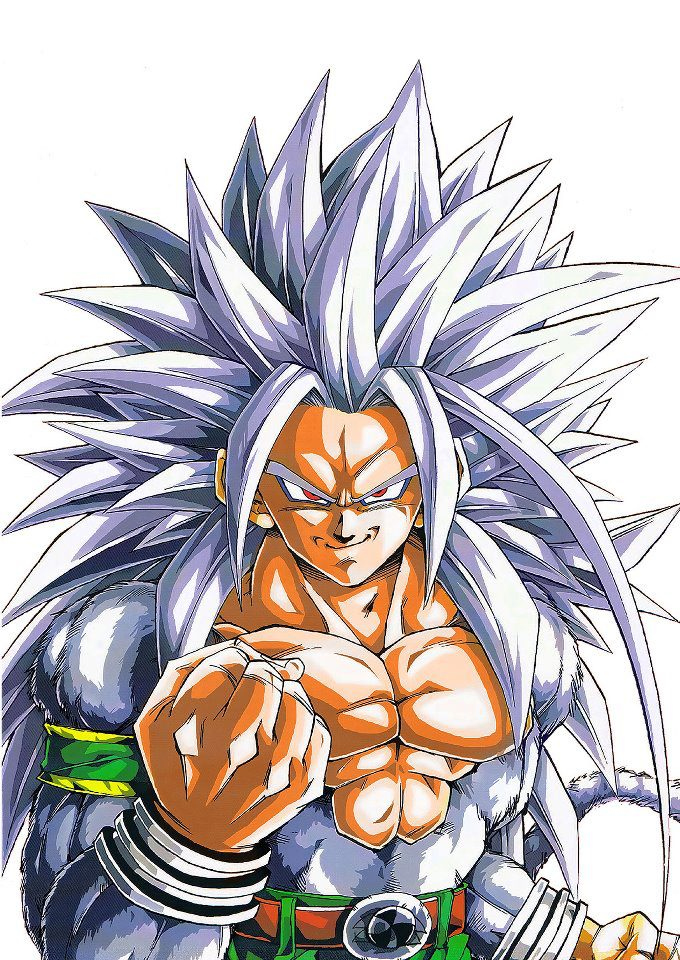 Super saiyan 5 superferon 39 s version ultra dragon ball - Goku 5 super saiyan ...
