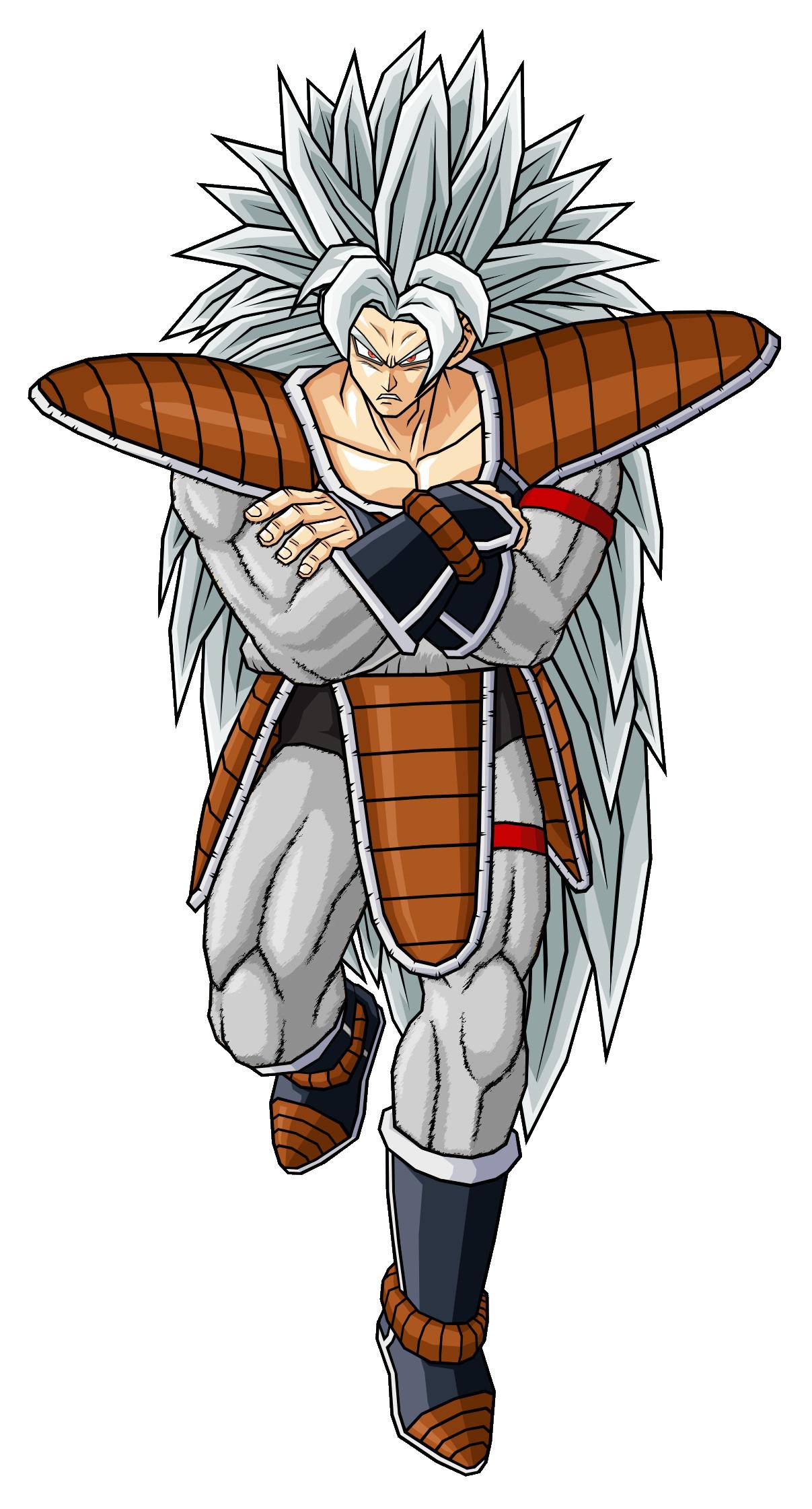 Image raditz silver saiyan ssj5 by robertovile ultra dragon ball wiki fandom - Super sayen 10000 ...