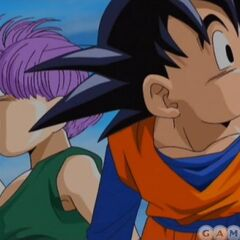 Goten and Trunks in the opening