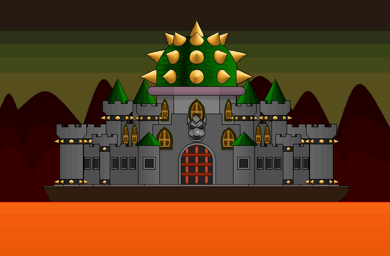Bowser S Castle Unanything Wiki Fandom Powered By Wikia