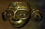 Golden Inca Mask