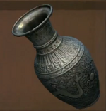 Tibetan Silver Vase