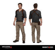 Nathan Drake (U4) final concept design