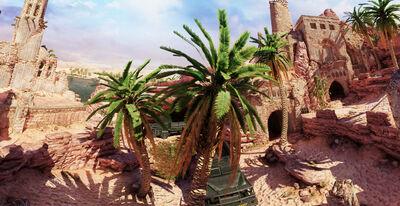 Oasis panorama