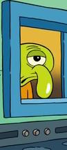Squidward Look Alike