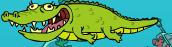 Alligator in Reckless Road Trip