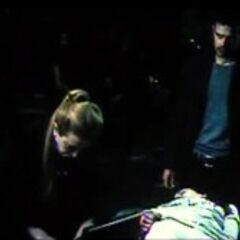 Olivia helping Eve.