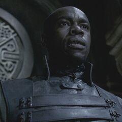 Kahn informs Viktor of Amelia's death.