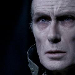 Viktor lamenting the death of Amelia.