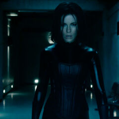 Selene in Antigen headquarters.