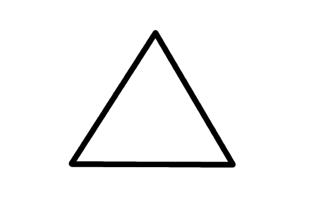 Triangle Outline Png File Big Triangle Outline