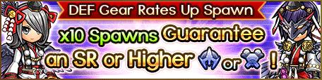 Spawn-DEF Gear Rates Up Tengu
