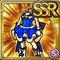 Gear-Blue Princess Dress Icon