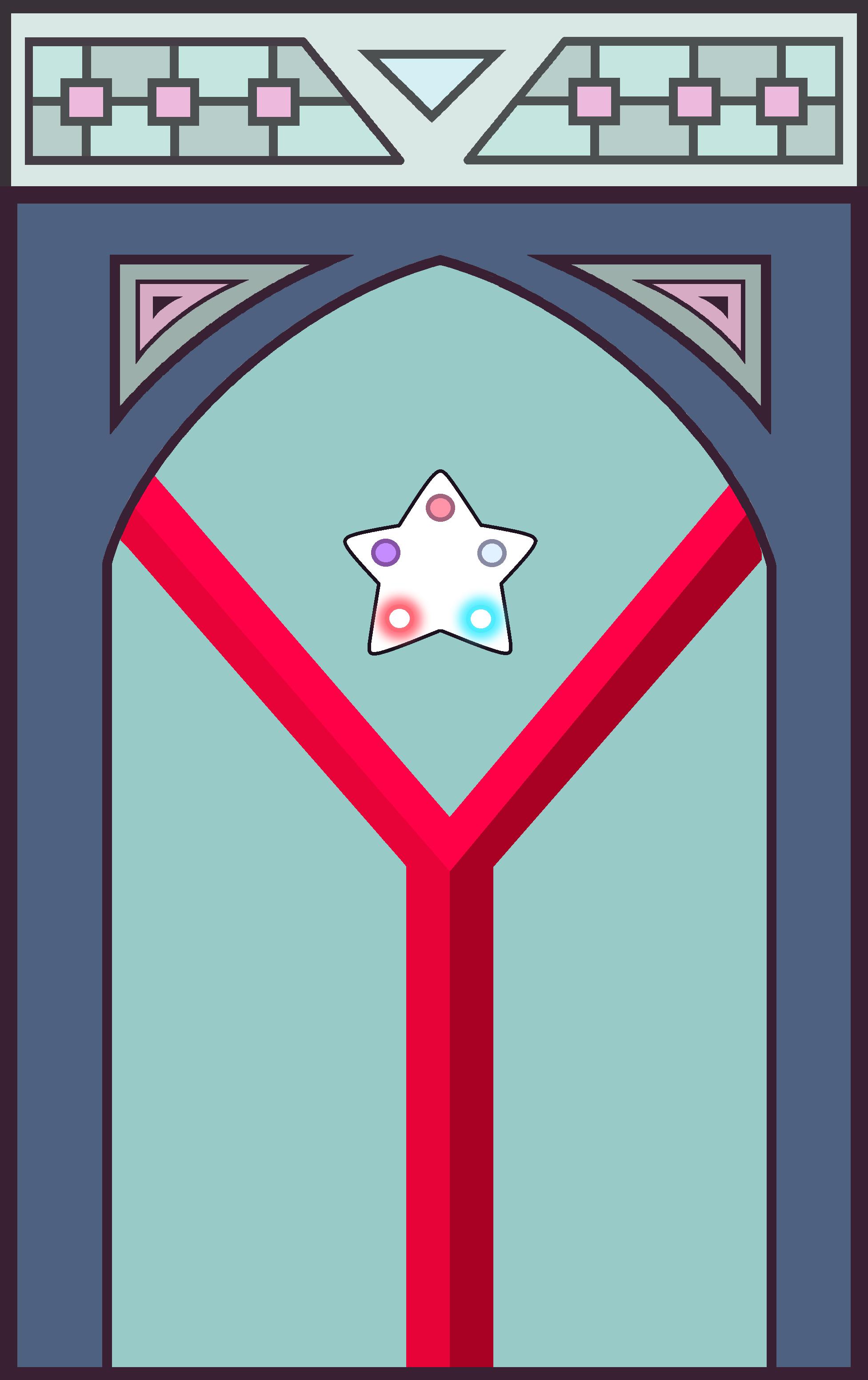 Imagen Puerta Del Templo Garnet Png Steven Universe