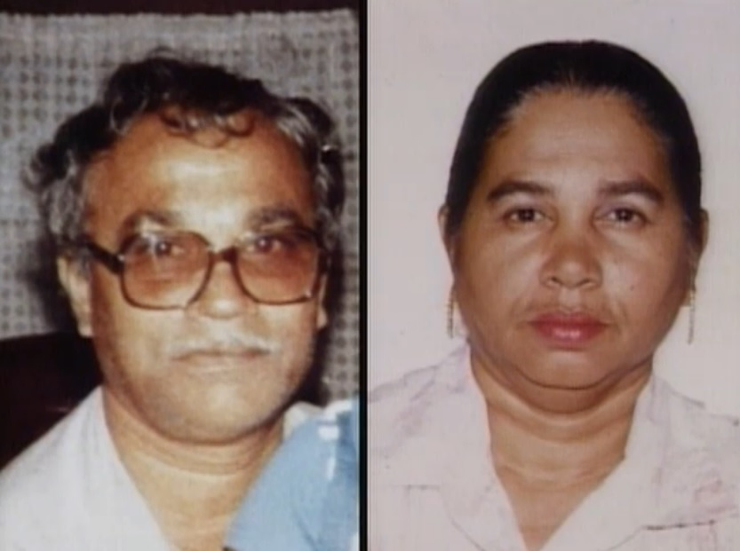 Obia man krishnadath and radha maharaj