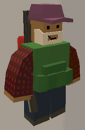 Player wearing Purple Cap