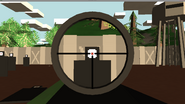 6x Zoom Scope aim