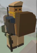 Player holding Pine Jerrycan